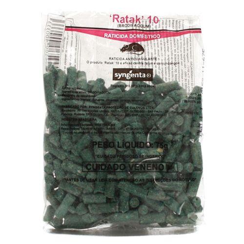 Raticida RATAK 10 75g