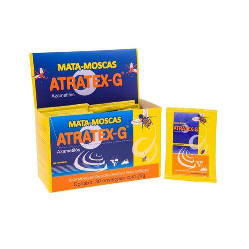 Caixa de Atratex-G Mata-Moscas  - 30 sachês 25g